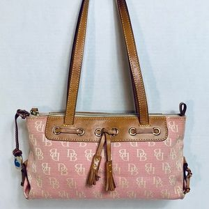 Monogram Dooney and Bourke shoulder bag